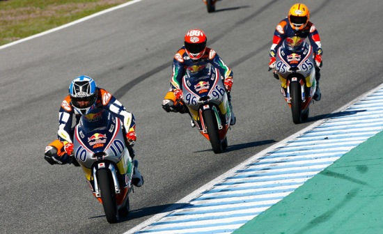 MOTORSPORT - Red Bull Rookies Cup, test